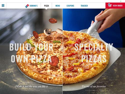 Domino's Cooks Up New Ordering App
