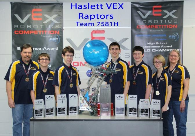 MSU-Sponsored Vex Robotics Team From Haslett Is Champ