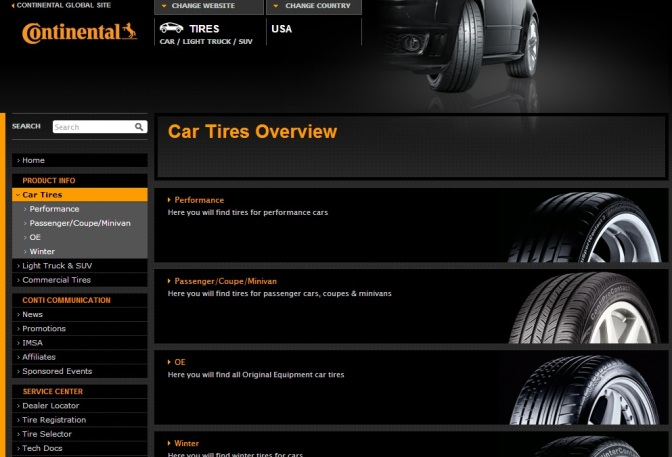 Continental Sensor System Tells You When Your Tires Are Bald