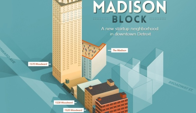 Detroit's M@dison Block Adds Microsoft As Partner
