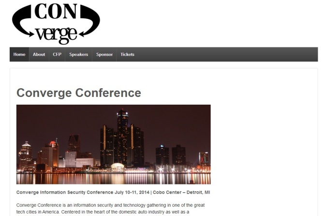 New Security Conference 'Converge' Coming In July