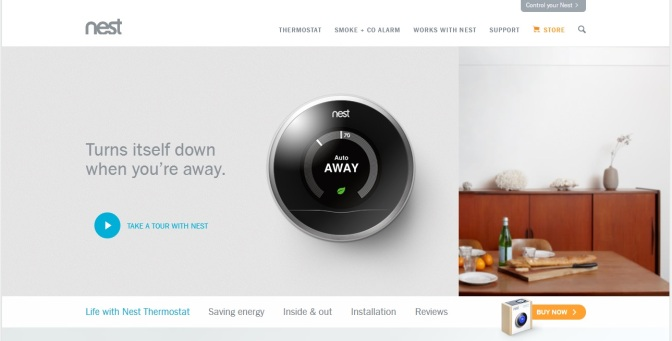 Benton Harbor, Nest In Smart Appliance Alliance