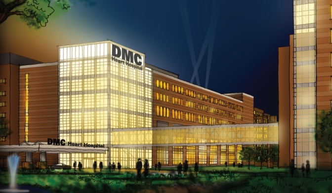Detroit Medical Center Opening DMC Heart Hospital