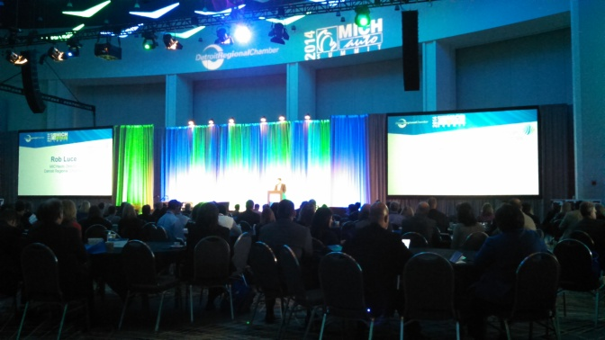 Summit Tackles Michigan's Role In High Tech Auto Future