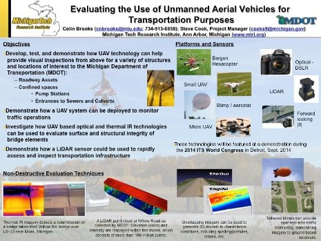 Michigan Tech To Fly Drones At Intelligent Transportation Convention