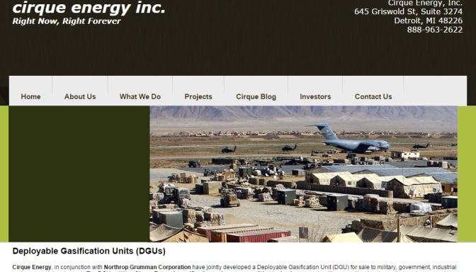 Cirque Energy Files Proxy Statement, Sets June 10 Special Stockholders Meeting