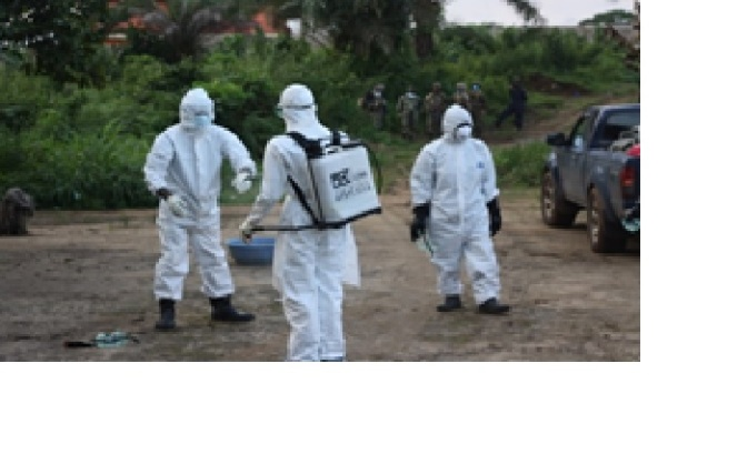 A First Hand Look At Liberia's Ebola Outbreak From A Former ESD Member