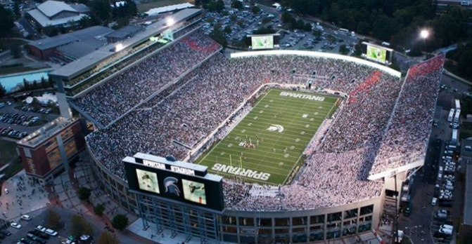 At Amp T Enhances Game Day Mobile Internet At Spartan Stadium