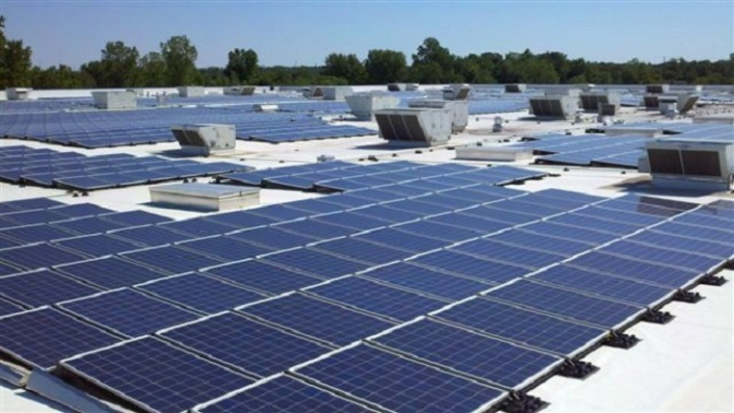 Ikea Canton rooftop solar power