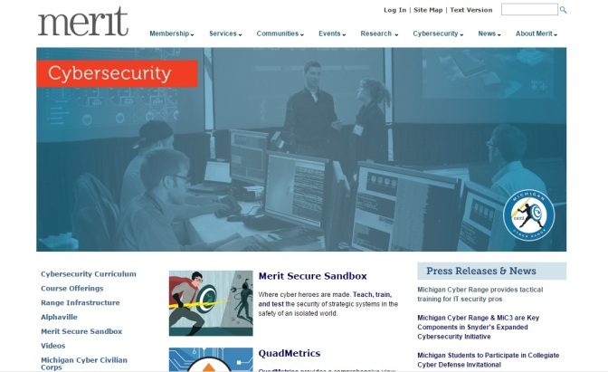 ESD Offering Members-Only Tour, Demo Of Michigan Cyber Range