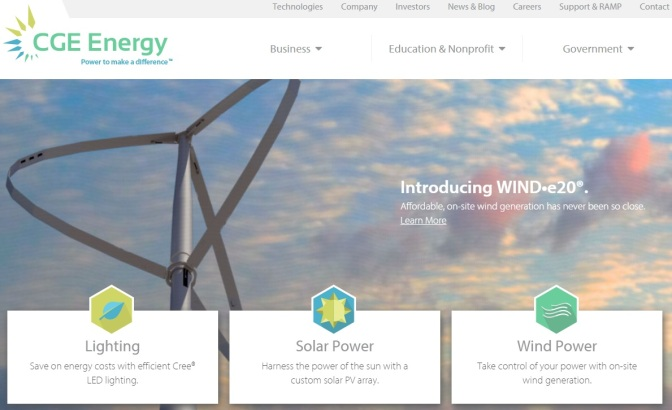 Brighton Firm Gets Wind Turbine Patent Notice