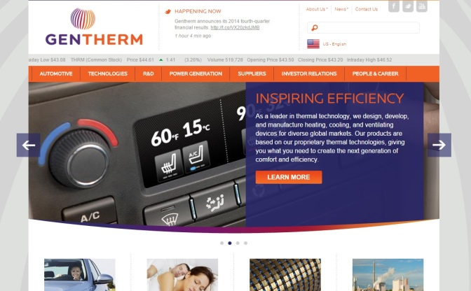 Gentherm Profits More Than Double, Revenue Up 23% In 2014
