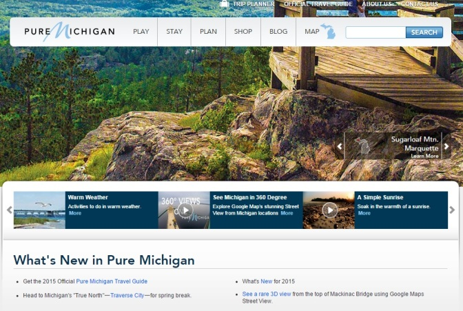MEDC Issues Formal RFP For Redesign Of Michigan.org
