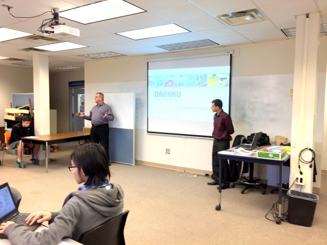Webb Lets LTU Students Know About Case Studies, Career Opportunities