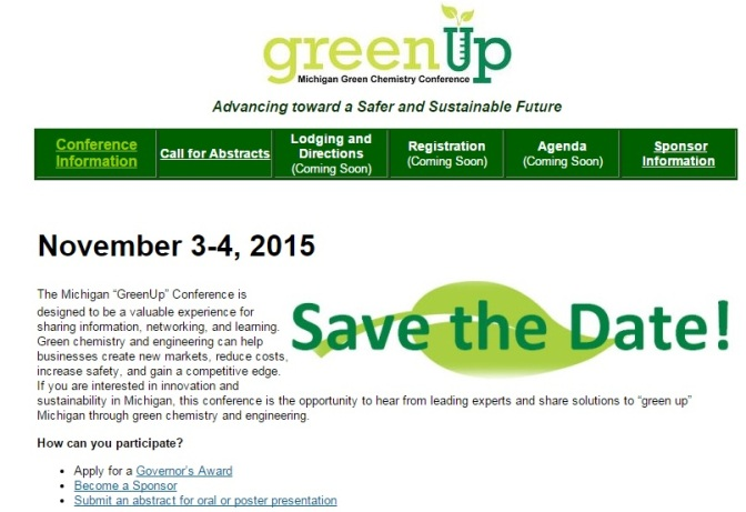 DEQ Sets Sustainable Manufacturing, Green Chemistry Conferences