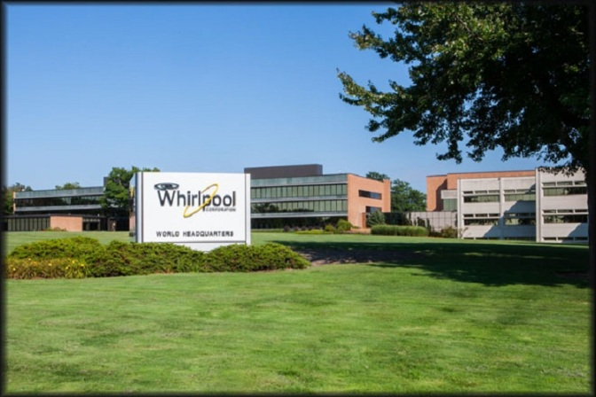 Whirlpool Sales, Profits Up Slightly