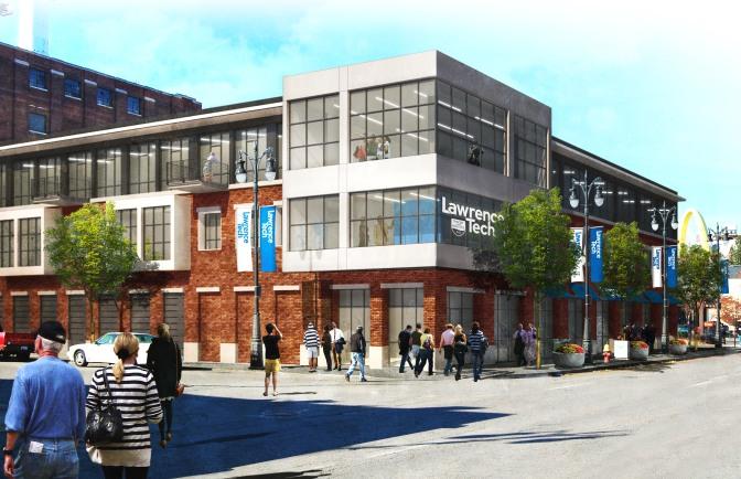 Hudson-Webber Foundation Supports LTU Detroit Design Center