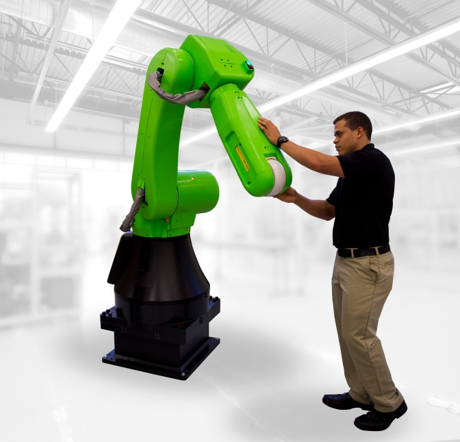 New Fanuc Robot Designed To Be 'Collaborative'