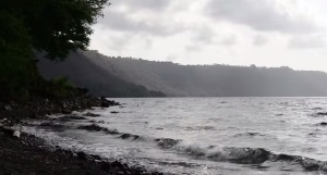 A view of Laguna de Apoyo, Nicaragua from a YouTube video from Engineers Without Borders Detroit.