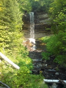 Time out for a bit of UP scenery: Munising Falls.