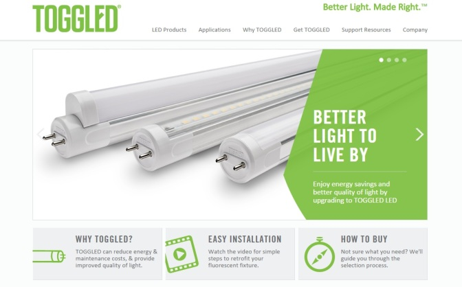 Toggled Part Of School's LED Lighting Retrofit; ROI Under One Year
