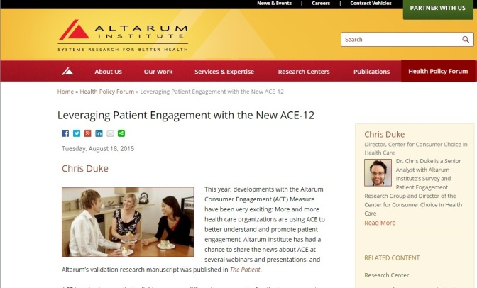 Altarum To Lead Clinical Practice Transformation Effort in Michigan