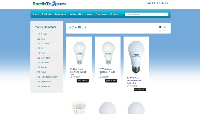EarthTronics Introduces High Lumen, Energy-Efficient, HID Replacement LEDs