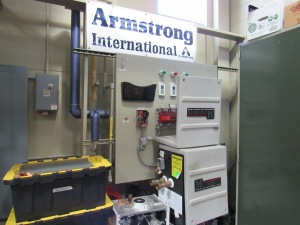 Ferris' HVACR program also features steam handling equipment from Michigan-based Armstrong.