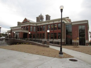 WMU's new Heritage Hall, the former East Hall after a $24 million renovation. It's intended as an alumni and community center.