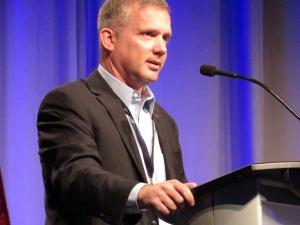 State CIO David Behen opened the Cyber Summit Monday.