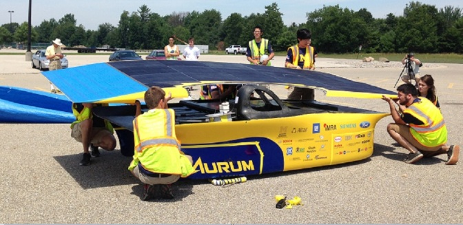IBM Forecasts To Help U-M In Solar Car Race
