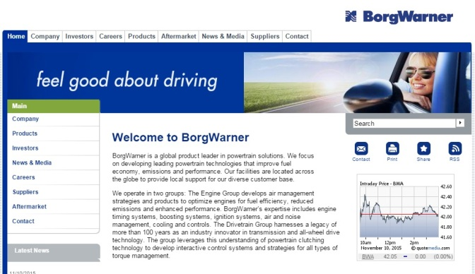 BorgWarner Completes Acquisition Of Remy International
