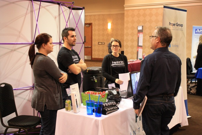 Tech, Engineering Podcast Visits ESD Job Fair