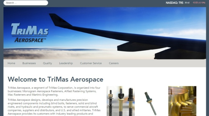 TriMas Buys Arizona Aerospace Plant