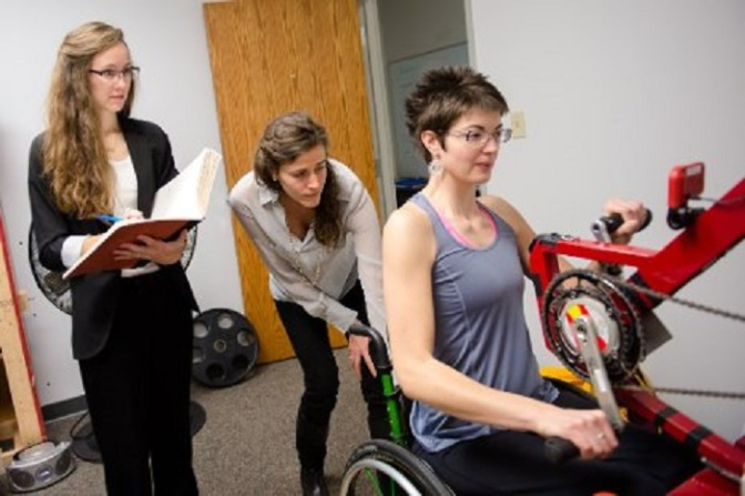 Michigan Tech Engineers Make Wheelchair Exercise Equipment Better