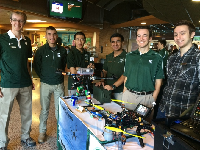 MSU's Drone Team Gearing Up For National Competition