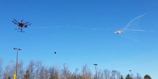 Michigan Tech Designs Rogue Drone Catcher