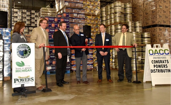 Orion Beer Distributor Is Oakland County's First PACE Project