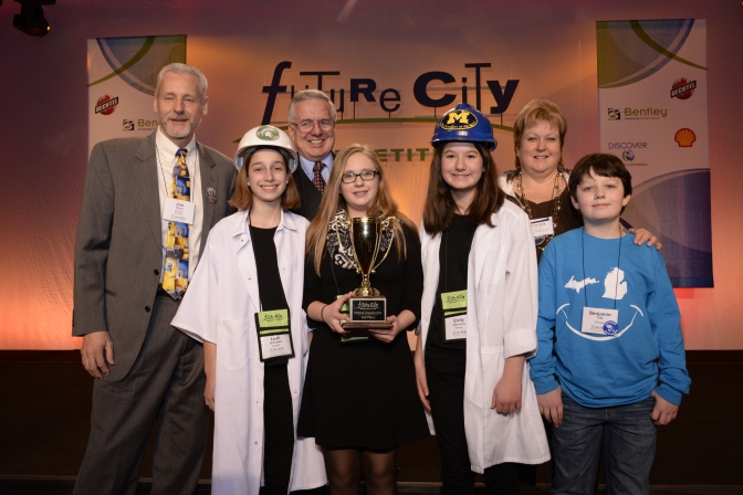 Michigan's Future City Champs Win Third Place at National Finals