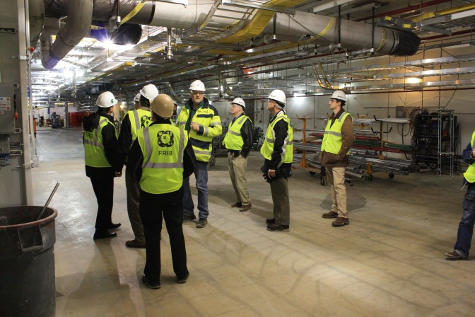 ESD Tours MSU's FRIB: A Photo Gallery