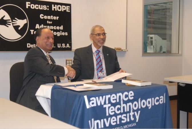 Lawrence Tech, Focus: HOPE extend partnership