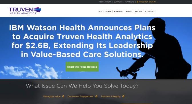 IBM Buying Ann Arbor Health Analysis Firm For $2.6 Billion