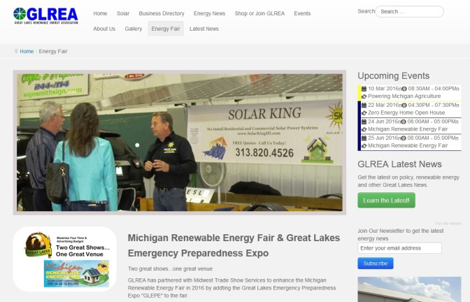 Michigan Energy Fair Adds Sustainable Living, Emergency Readiness Events