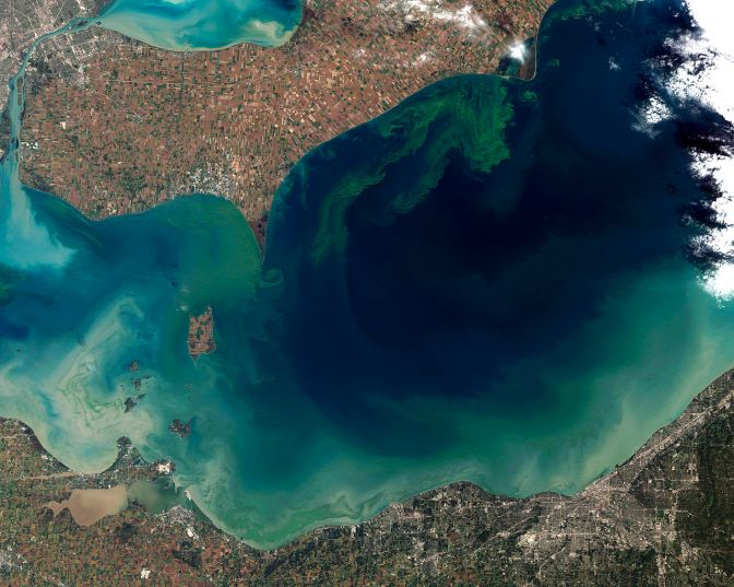 UM Researchers: Lake Erie Pollution Targets 'Challenging' But Achievable