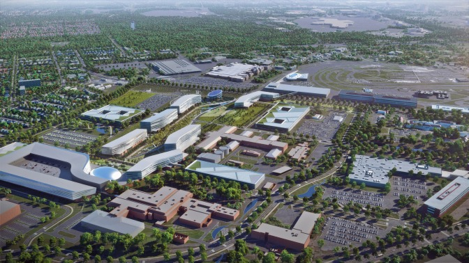 Ford Announces 10-Year Rebuild Of Dearborn HQ