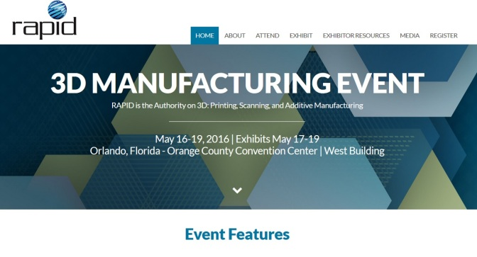 SME, Rapid News To partner On 3D Printing Event