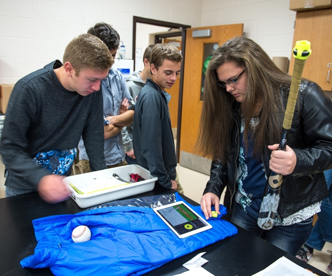 Bay City Western Students Analyze Sports Physics In Saginaw Valley,  Dow Corning Initiative