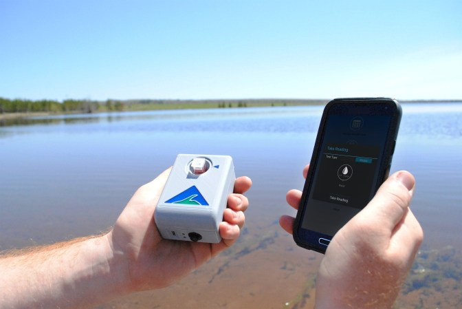 Water Quality Monitoring On Your Smartphone From UP Firm