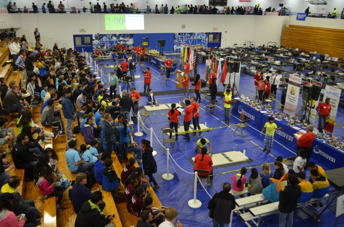 Robofest: A global celebration of human imagination and robot skill