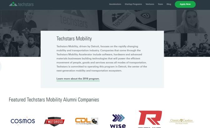 Ford, Techstars Pick 12 Mobility Startups